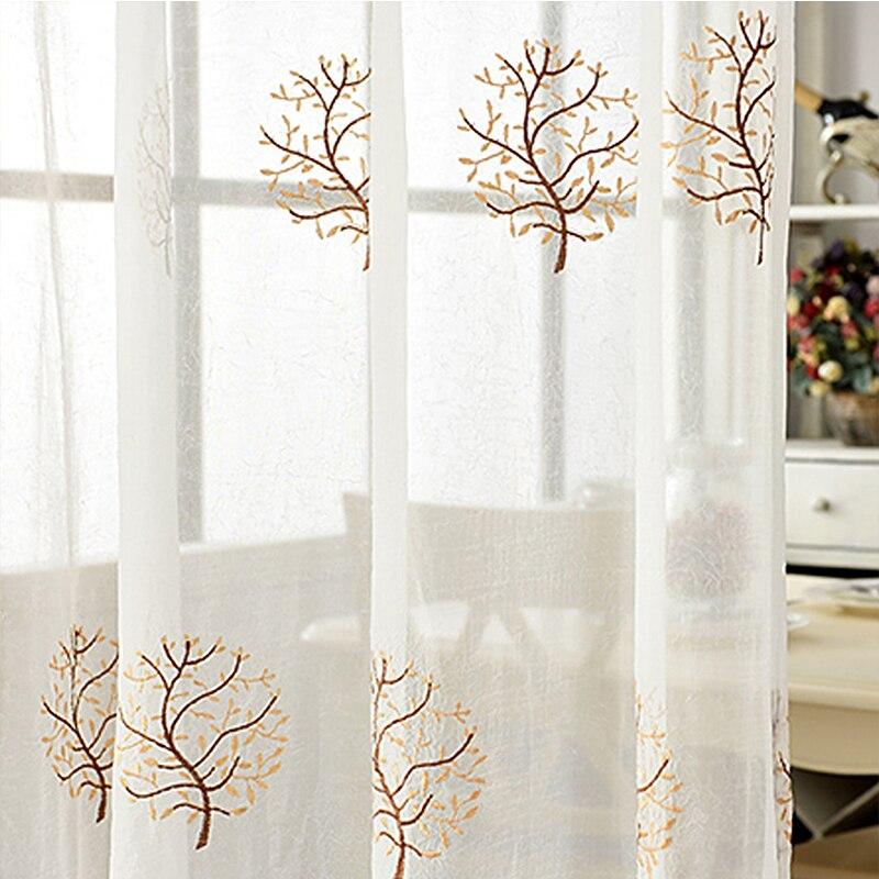 2 Kleuren Gordijn Blackout Blinds Panel Polyester Geweven Home Decor ...