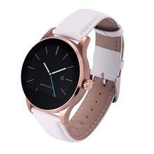 Mode Hommes Femmes Smartwatch K88H Smrt Montre Ronde Étanche Bluetooth Montre avec Podomètre de la Fréquence Cardiaque pour Android Apple Téléphone