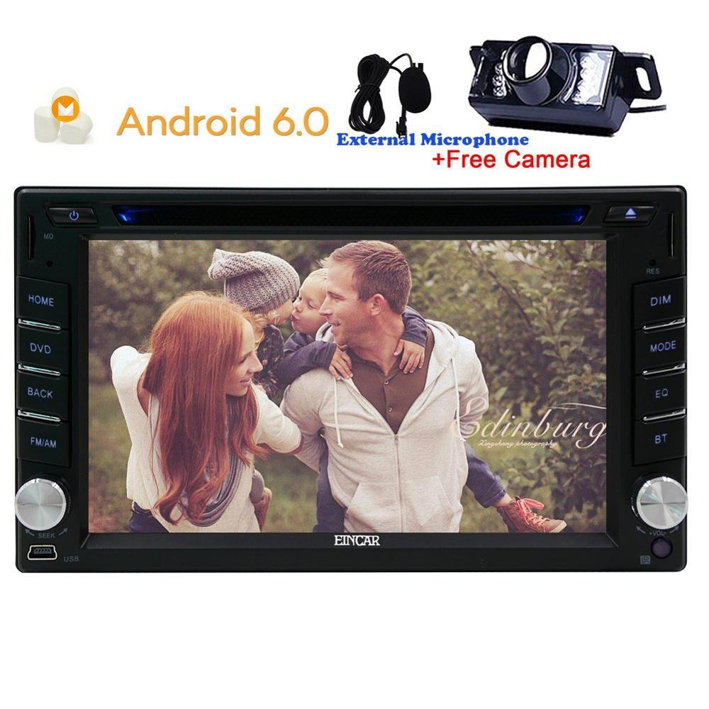 Car Stereo dvd gps Capacitive screen Head Unit Android 6 0 Car DVD Player GPS Navigation
