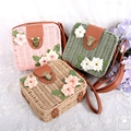 MLITDIS Classic Box Bag Women With Flower Summer Shoulder Bags For Girls Straw Bag Beach Small Crossbody Bags For Women Vintage