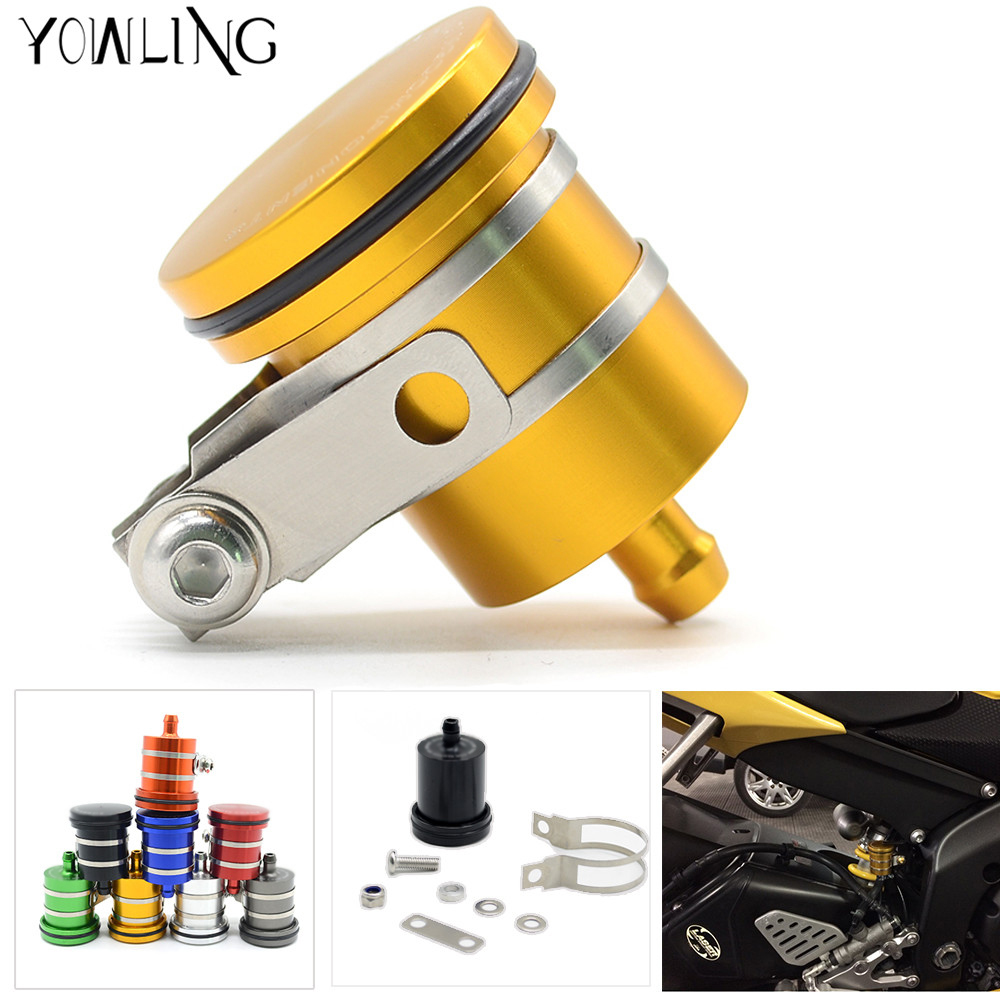 Motorcycle Brake Fluid Reservoir Clutch Tank Oil Fluid Cup For YAMAHA R1 r1 R6 R25 R3 MT09 MT-09 MT-10 MT07 2004 2005 2006 -2017 motorcycle brake fluid reservoir clutch tank oil fluid cup for yamaha yzf r25 r15 r6 r125 kawasaki z750 z800 fz8 fz1 fz6r mt09