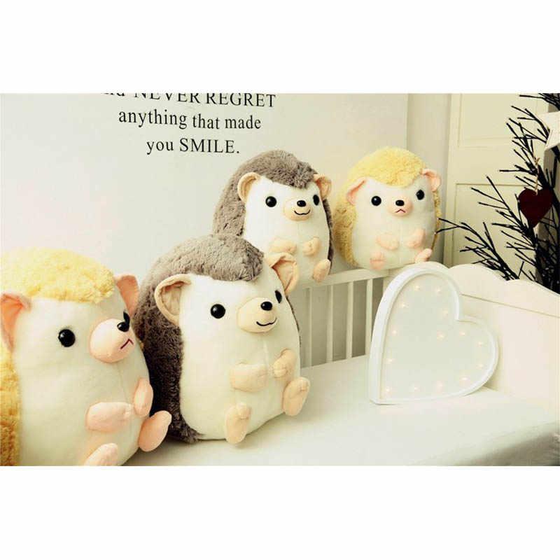 Роллер Ежик, игрушечный еж, детский подарок для девочки, Рождественский подарок на день рождения, девочка друг милые плюшевые игрушки для детей