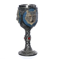 New product Stainless Steel Wolf Head Goblet As A Gift For Boyfriend