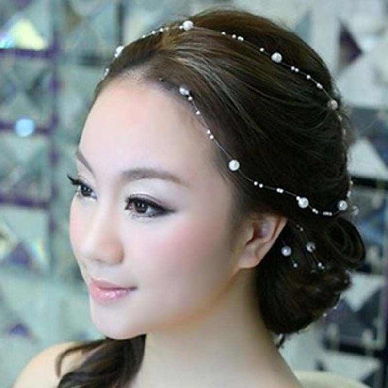 Wedding Decoration Hair Vine Bridal Accessories Headband Party Headpiece Tiara Headdress For Bride Hairband Hairpins Ornaments