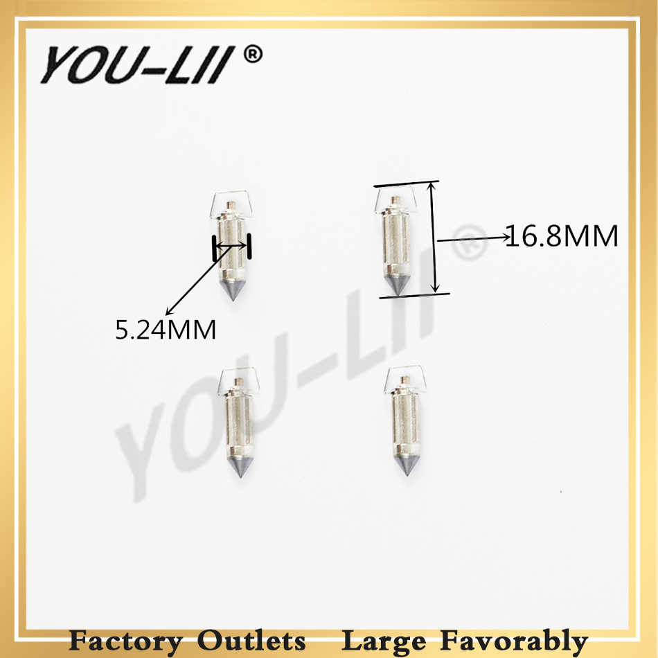 hight resolution of youlii carburetor valve needle cg125 pz26 gy6 cb400 1 variety of large displacement motorcycles triangular