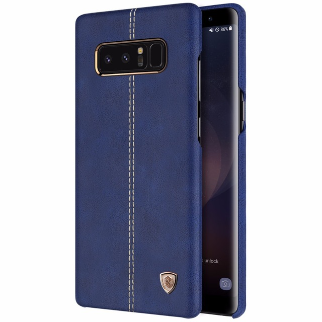 release date: 87447 3f8ba US $10.99 |Shockproof Leather Case For Samsung Galaxy S9 S8 Plus Note 8  NILLKIN Englon Back Cover Tough Cases For Samsung S8 Plus In Stock-in ...