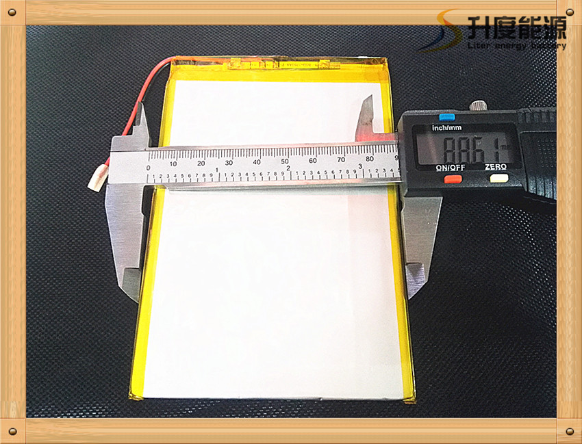 Free shipping 3.7V,5000mAH,[3088128] Polymer battery 9 inches tablet battery domestic th ...