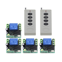 Hot 1CH RF Radio Remote Control Switch With Memory Function DC 12V For Blinds 2 X