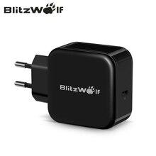 BlitzWolf 30W USB Type C ชาร์จโทรศัพท์มือถือ PD + QC3.0 Fast Charger EU/AU อะแดปเตอร์สำหรับ iPhone 11 X PRO MAX 8