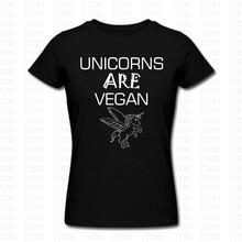 """Unicorns Are Vegan"" T-Shirt"