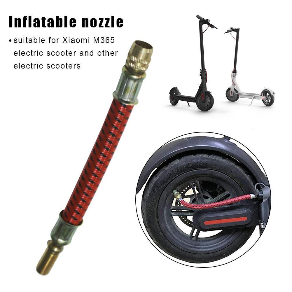 For Xiaomi M365 Electric Scooter Balance Car Bicycle Extension Inflatable Nozzle Extension Tube Extension Tire Valve Adapter