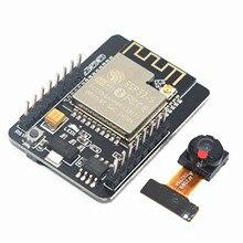 ESP32 CAM WiFi WiFi מודול ESP32 סידורי כדי WiFi ESP32 מצלמת פיתוח לוח 5V Bluetooth עם OV2640 מצלמה מודול עבור arduino