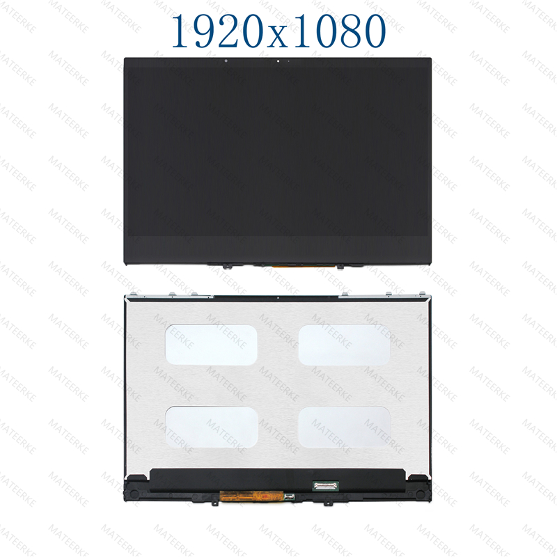 13.3 LCD LED Touch Screen Assembly With Bezel For Lenovo Yoga 730-13IKB 81CT image