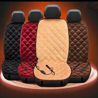 Truck Seat Covers Heated Seats Winter 12V Car Red Seat Covers Seat Heating Safe High Quality Back Row Cushion