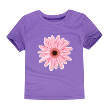 Kids Baby Girls Daisy Flower T Shirts Clothing