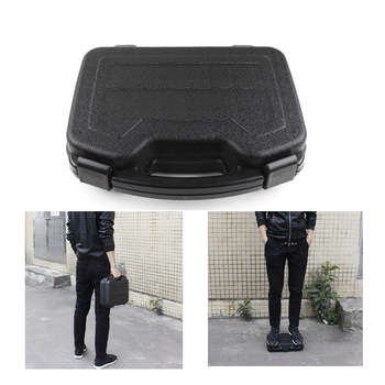 New Style super strong type tactical ABS gun pistol hard box Gun case storage  box for hunting airsoft Black Green