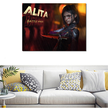 Alita Battle Angel Anime Wallpaper HD Canvas Posters Prints Wall Art Painting Decorative Picture Modern Home Decoration Artwork