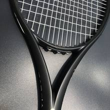 ZARSIA Custom taiwan Tennis racket 100sq.in 300g 16x19 Black tennis racquet 100% carbon foamed handle with bag(China)