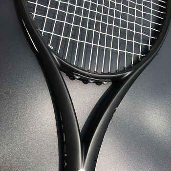 ZARSIA Custom taiwan Tennis racket  300g 16x19 Black tennis racquet 100% carbon foamed handle with bag