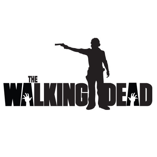 Custom Stickers The Walking Dead