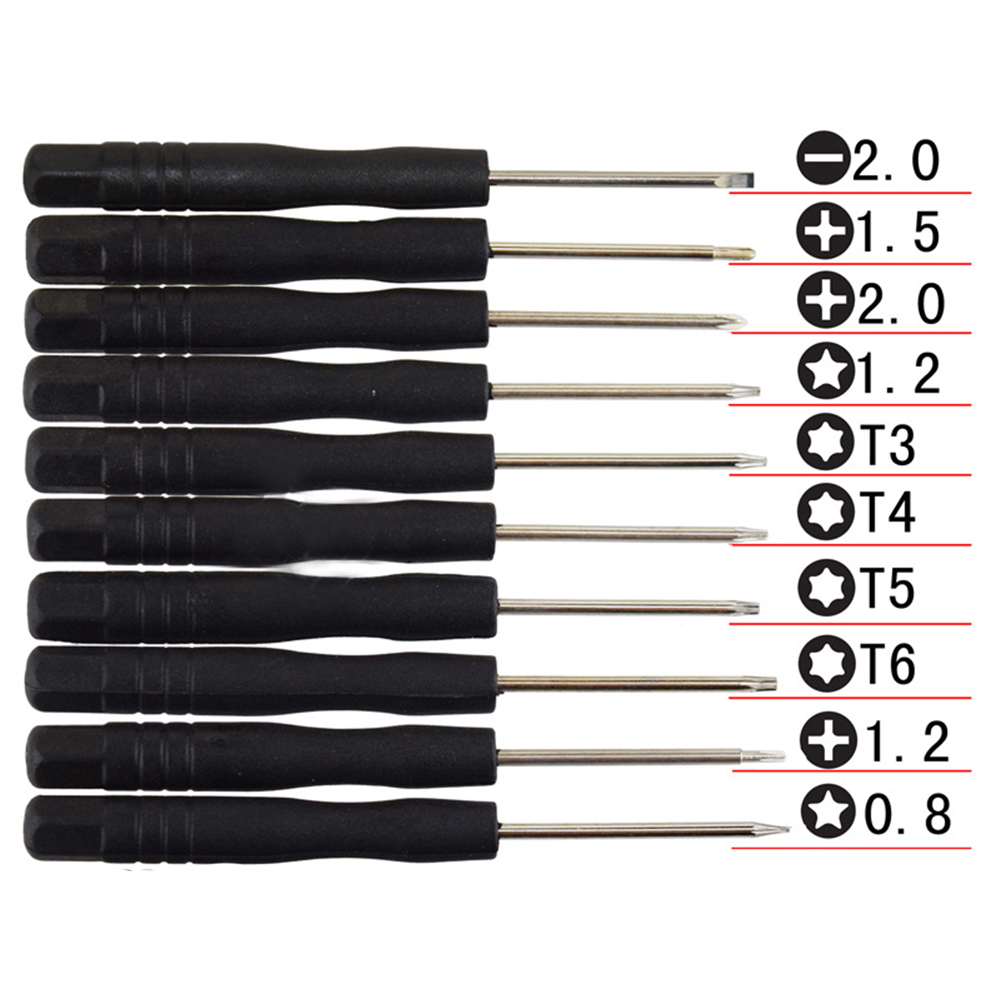 10 In 1 Mini Multi Function Magnetic Precision Screwdriver Set for Apple iPhone iPad HTC Cell
