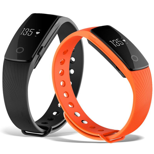 Heart Rate Monitor Fitness Bracelet Wristband Pedometer Fitness Watch Pulsometer Watch Step Counter Smartband For xaomi