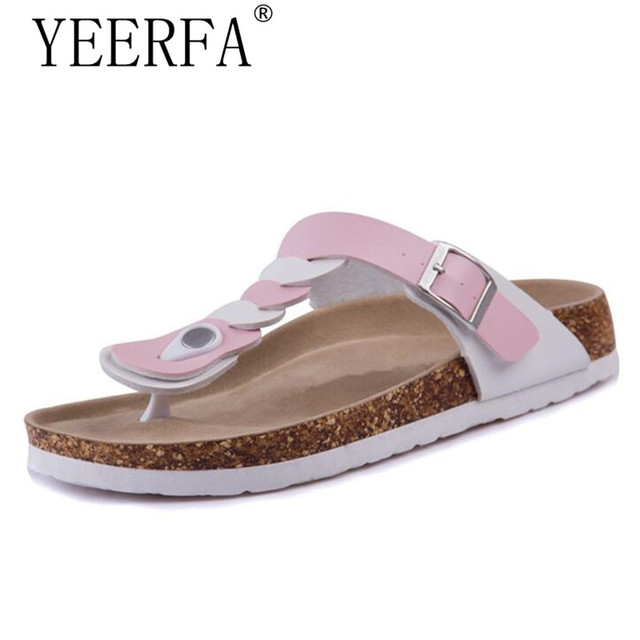 Summer Women's Casual Slippers Sandals Rivets Platform Shoes Beach Flip Flops
