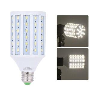 Image 5 - Andoer фото студия фотографии 40 Вт светодиодсветодиодный лампа Кукуруза лампа 90 бусин 5500K E27