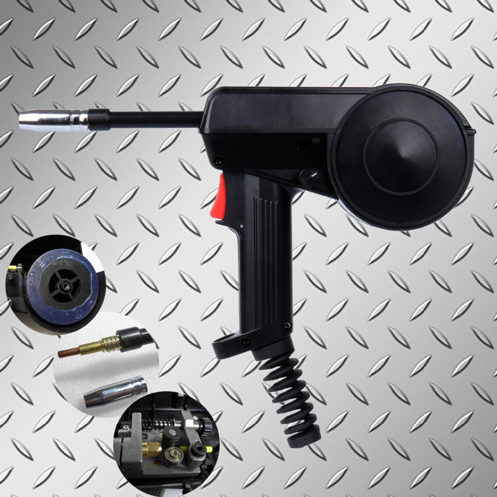No Cable 160A Spool Gun Welding Torch Mig Spool Gun Mig Gun Head Aluminium Spool Gun With Adjustable Speed