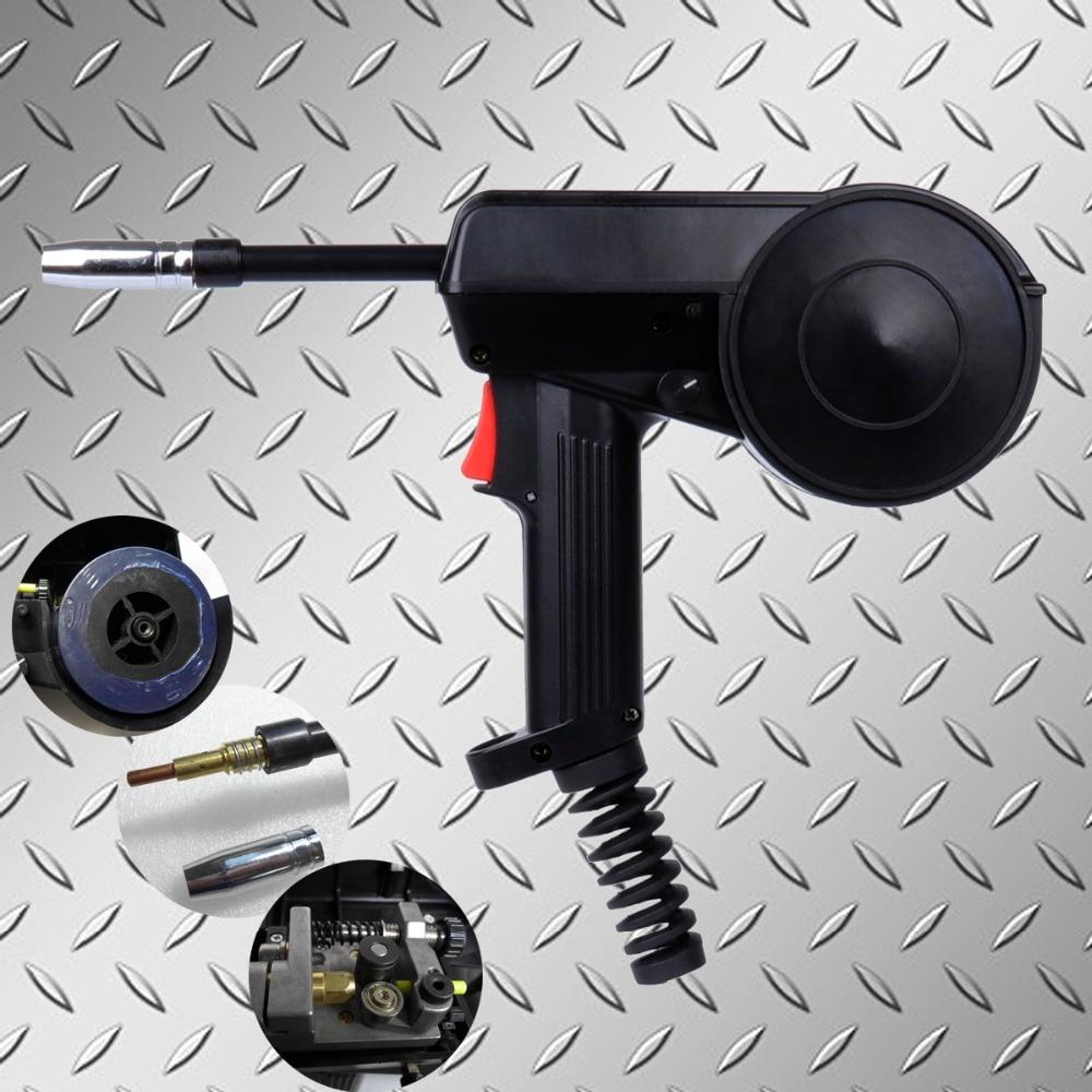 No Cable 160A Spool Gun Welding Torch Mig Spool Gun Mig Gun Head Aluminium Spool Gun With Adjustable Speed