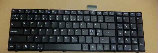 for MSI GT683R GT683DX GT683DXR GT685 GT685R keyboard Nordic Scandinavian