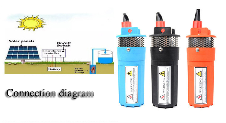 solar water pump exported to 58 countries dc submersible solar water pump
