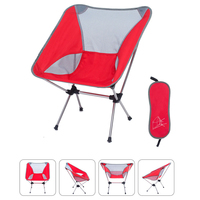 Portable Beach Fishing Chair Ultralight Folding Camping Chair Outdoor Travel Picnic Festival Hiking Backpacking Lightweight