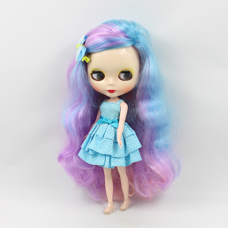 Nude doll Blyth Multi-Color Long Hair bjd 30cm Blyth dolls for sale guess vg45 58050 nude multi