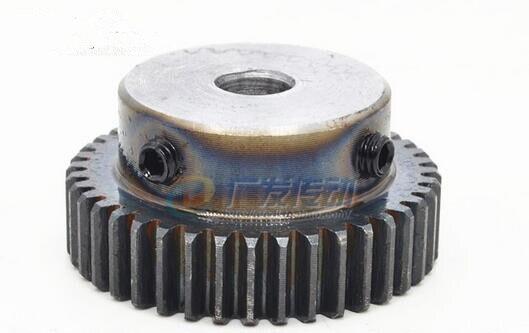 Spur gear finishing gear 1 mod 45 teeth 1M45T Bore 6/8/10/12mm motor accessory drive robot race transmission RC car стоимость