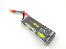 BUILD POWER 2S lipo battery 7.4v 2200mAh 60C For rc helicopter rc car rc boat quadcopter Li-Polymer battey