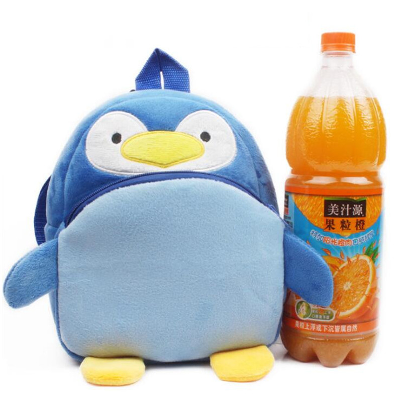 New-Arrival-Cute-Animal-Penguin-Plush-Backpackers-Children-School-Bags-Kids-Birthday-Christmas-Gifts-4