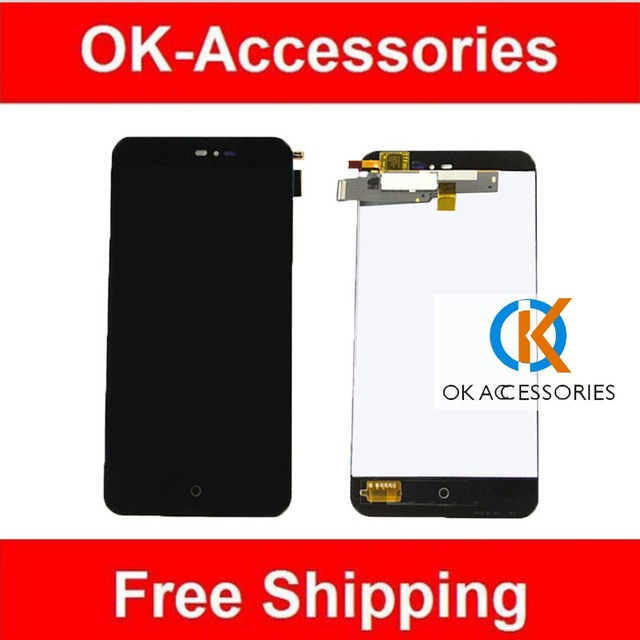 High Quality LCD Display+Touch Screen Digitizer Assembly For Meizu MX2 MX 2 M040 Black Color 1PC/Lot