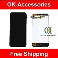 ЖК-Дисплей + Сенсорный Экран Планшета Ассамблея Для Meizu MX2 MX 2 M040 Черного Цвета 1 Шт./лот