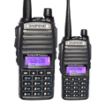 2 pcs/lot Free shipping  BAOFENG New UV-82 VHF/UHF 137-174/400-520MHz Dual Band Radio Walkie Talkie Transceiver
