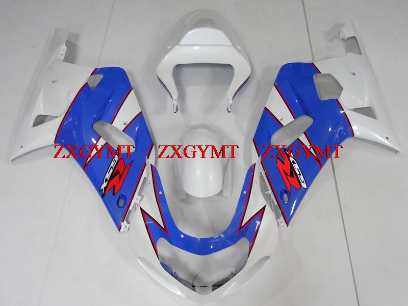 Bodywork for GSXR 600 750 1000 2000 - 2003 K1-2 Fairings GSX R600 R750 R1000 2001 White Blue 2000Bodywork for GSXR 600 750 1000 2000 - 2003 K1-2 Fairings GSX R600 R750 R1000 2001 White Blue 2000