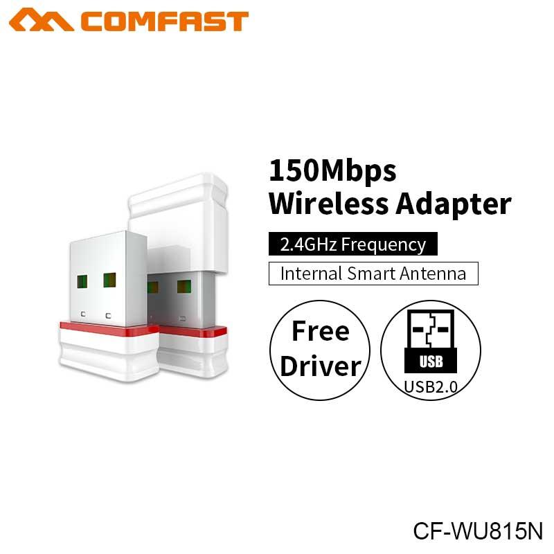 10Pcs Comfast CF-WU815N Driver usb wifi adapter Wireless 150Mbps antenna range