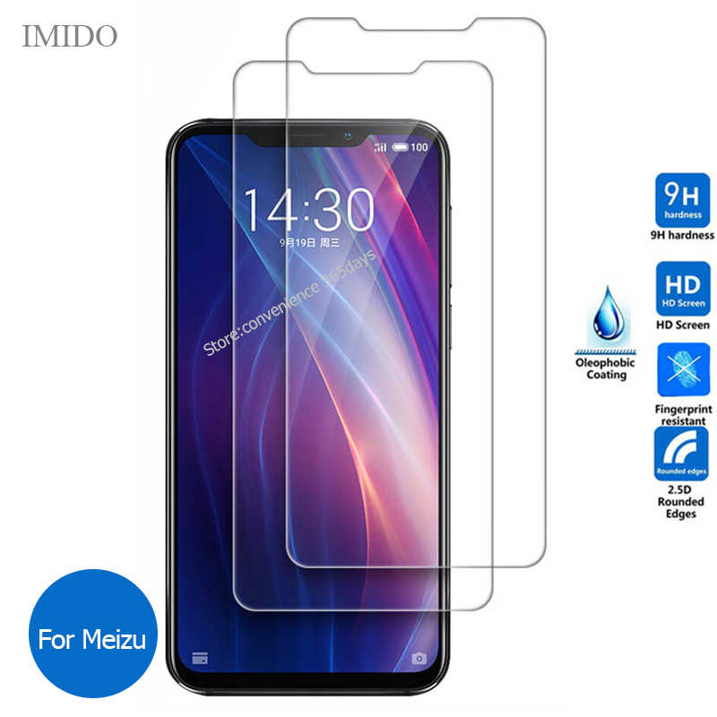 2PCS/Lot Tempered Glass For Meizu C9 Pro X8 M8 Lite V8 M8C M6T M6S M6 Screen Protector 9h Protective Glass On M 8C 6T 6S V 8 X 8