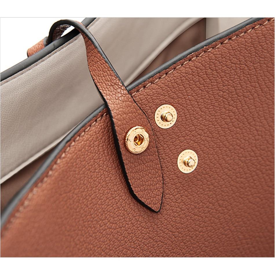 bfa89321c7 BAFELLI Women basis Bucket Bags Cow Leather Women Messenger Bags ...