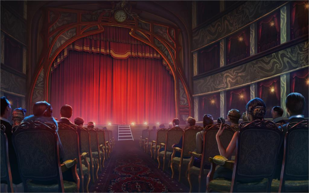 Theatre curtains reviews online shopping theatre for Auditorium stage decoration