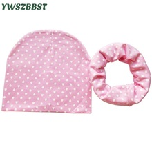 4-12 years old Boys Girls Children Winter Hats Spring Autumn Cotton Baby Hat Scarf Set Children Beanie Cap Kids Hat Scarf Collar цена в Москве и Питере