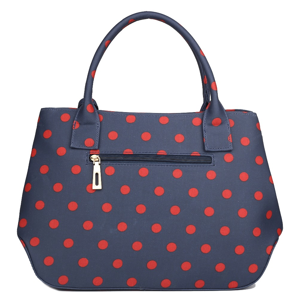 Casual Las And Structured Matte Dot Print Oilcloth Shoulder Bag Satchels Handbags Crossbody Bags Polka 5 Color In Top Handle From Luggage