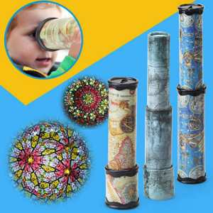 Rotation World-Toys Rotating-Kaleidoscopes Fancy Kids Boys-20 Color Scalable Advanced