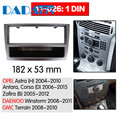 11-026 автомобильный DVD/CD для OPEL Astra (H)  DAEWOO Winstorm Radio Stereo Fascia Panel Frame Adapter Fitting Kit 1 Din