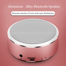 A8 Music Player Box Metal Portable Bluetooth Speaker Boombox Loudspeaker USB Charging Wireless Boombox Indoor 800mAh Battery printio boombox